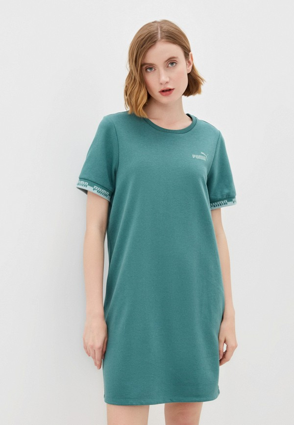 Платье PUMA зеленого цвета