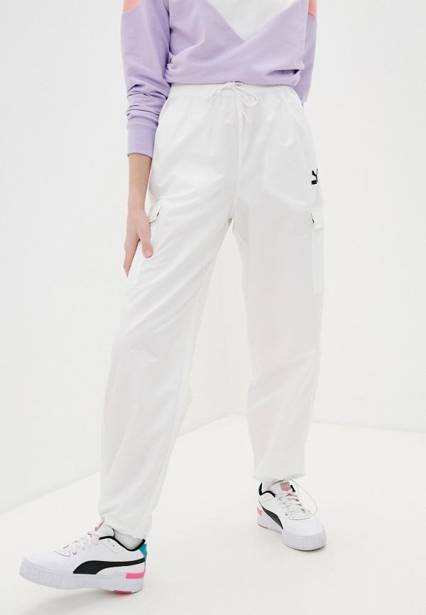 женские брюки puma, белые
