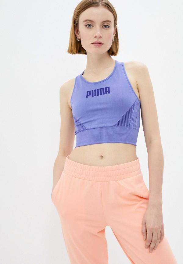 женский спортивный костюм puma, фиолетовый