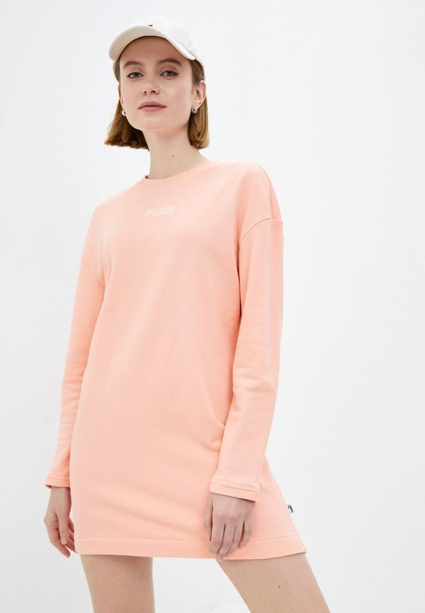 Платье PUMA кораллового цвета