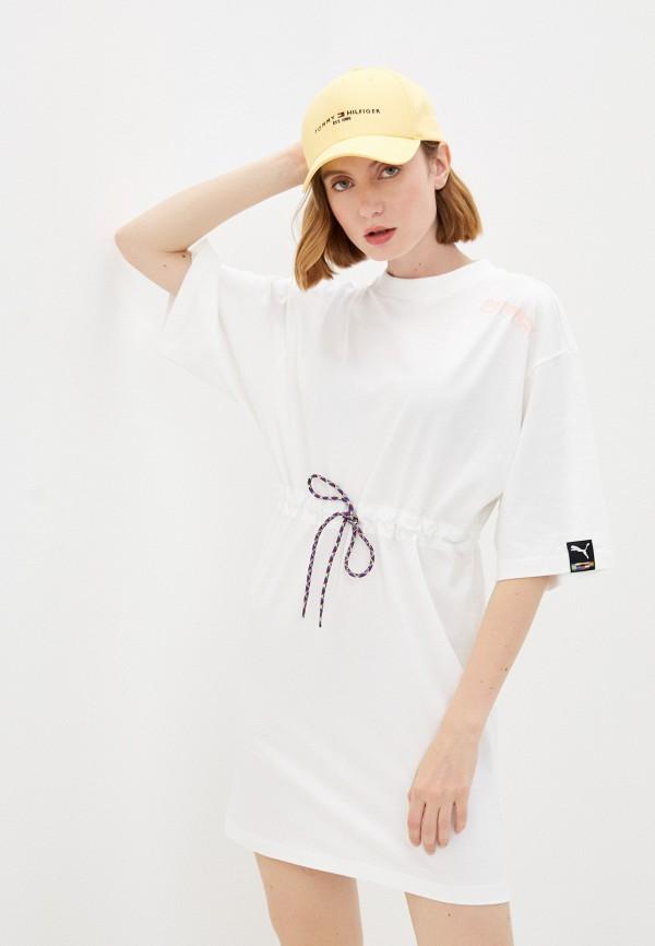 Платье PUMA белого цвета