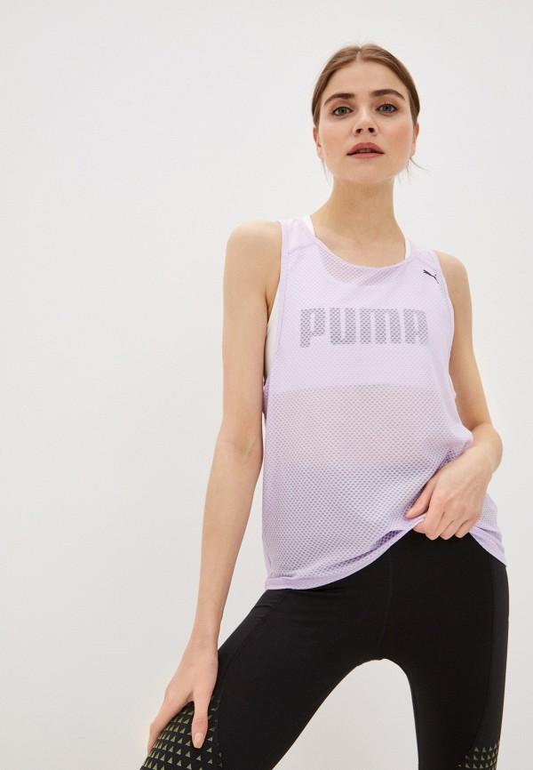женская спортивные майка puma, фиолетовая