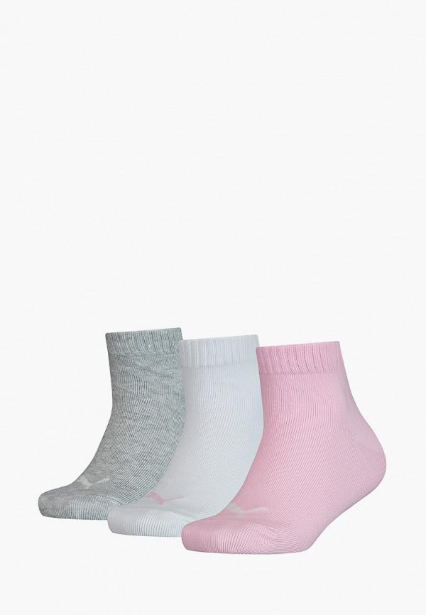 носки puma для девочки, разноцветные