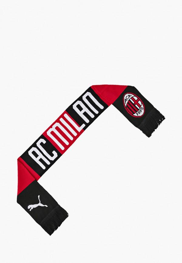 женский шарф puma, красный