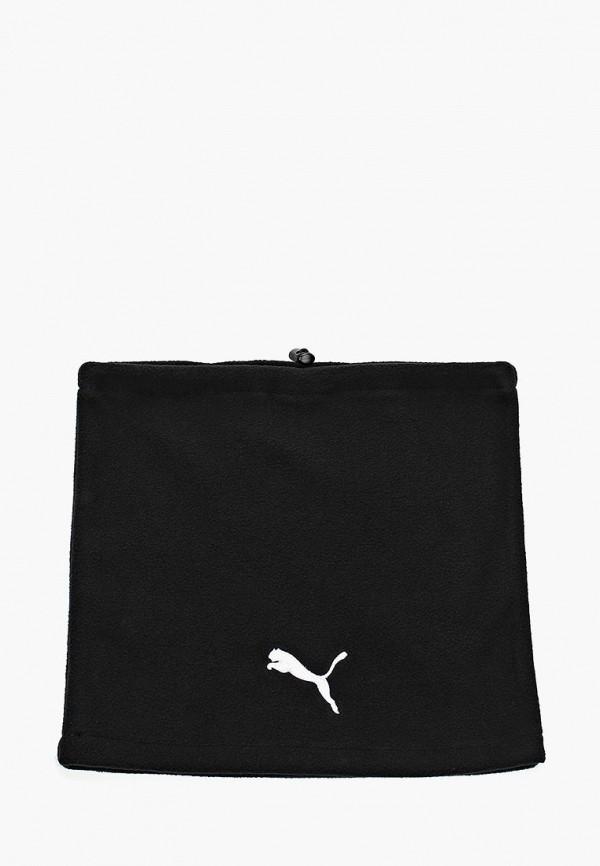 женский шарф puma, черный
