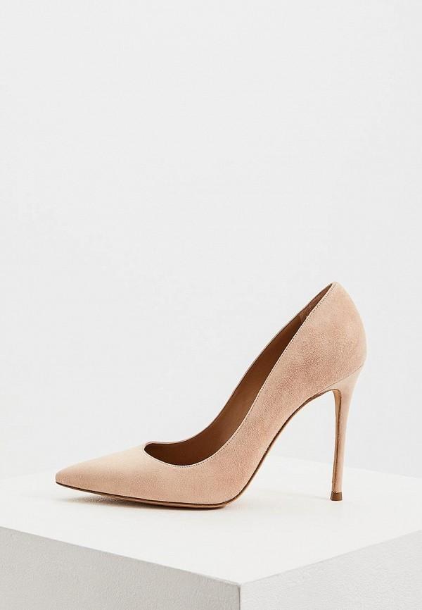 женские туфли-лодочки pura lopez, бежевые