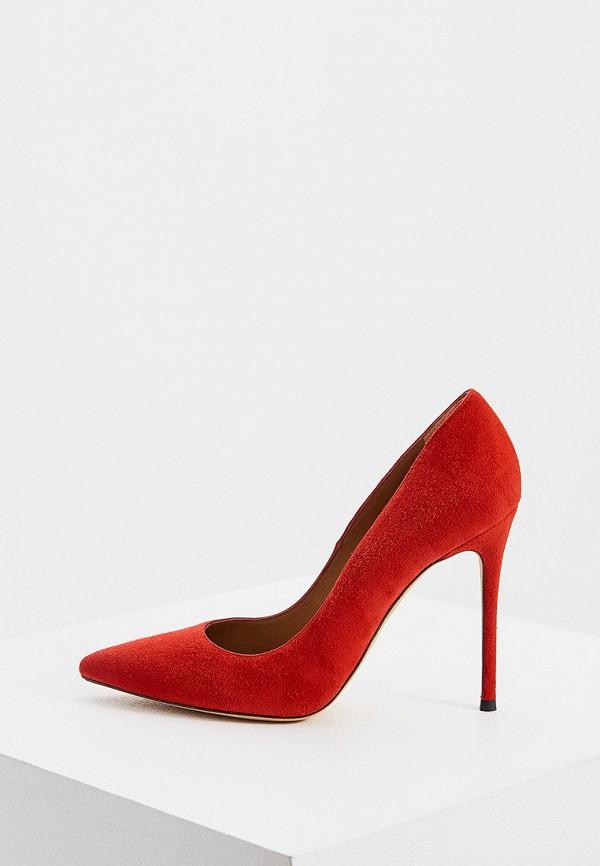 женские туфли pura lopez, красные