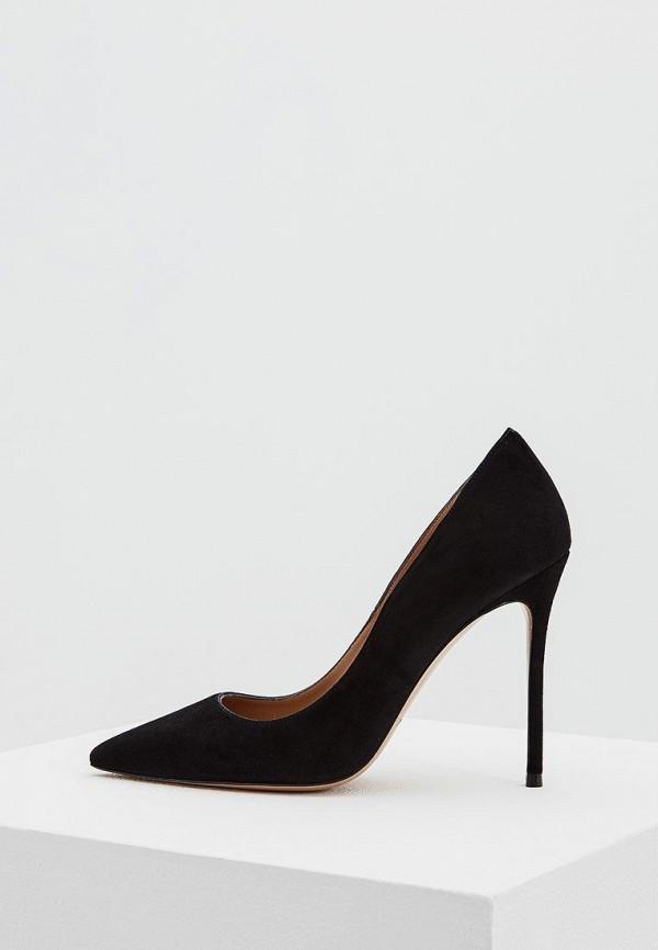мужские туфли pura lopez, черные