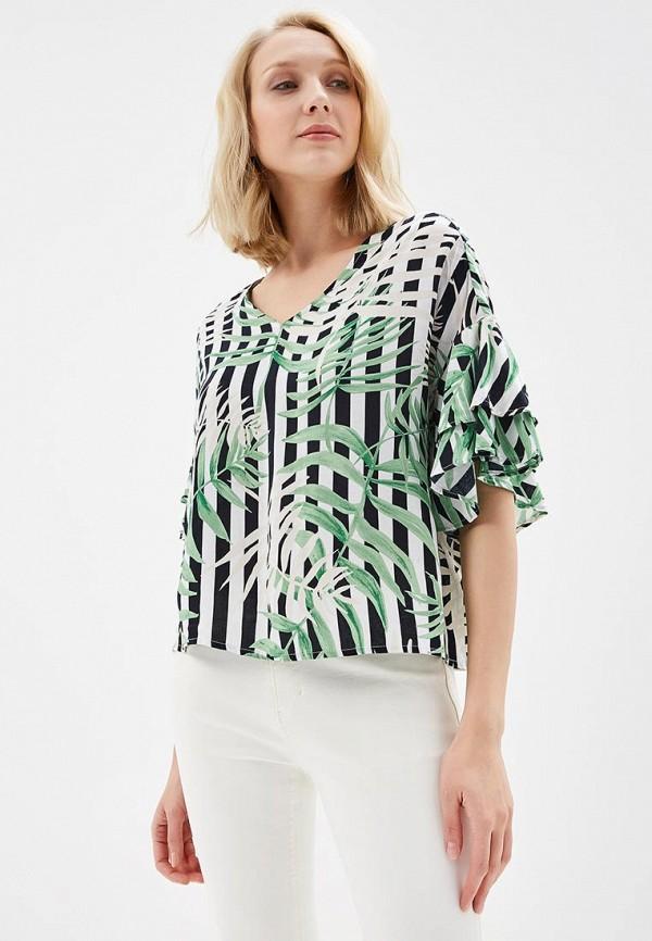 Купить Блуза QED London, QE001EWAORC7, разноцветный, Весна-лето 2018