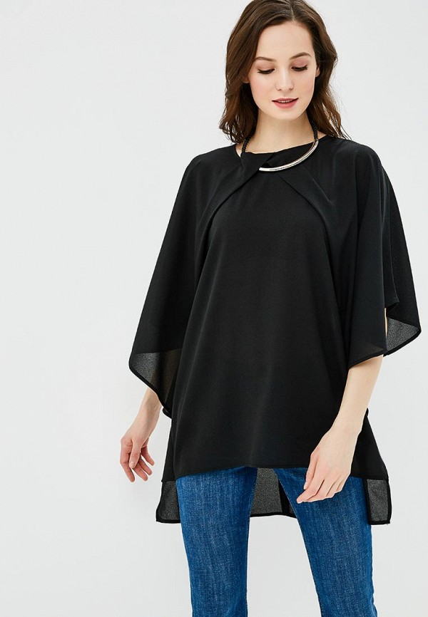 Купить Блуза QED London, QE001EWAORG7, черный, Весна-лето 2018