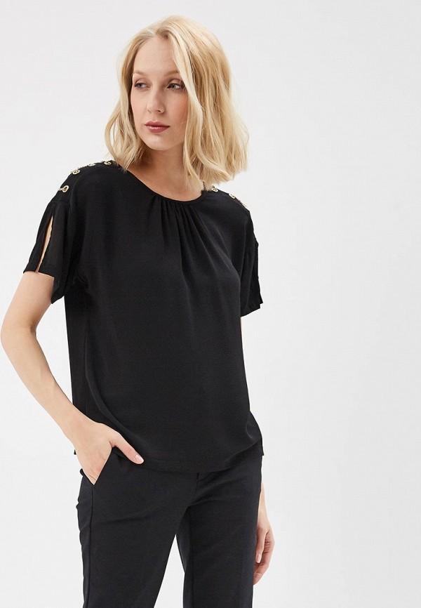 Купить Блуза QED London, qe001ewaorh2, черный, Весна-лето 2018
