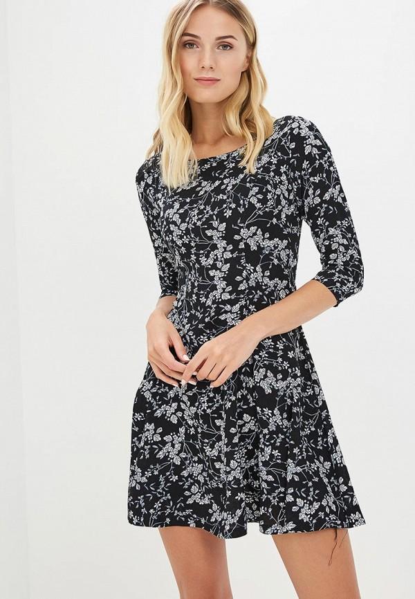 Купить Платье QED London, qe001ewboek6, черный, Весна-лето 2018