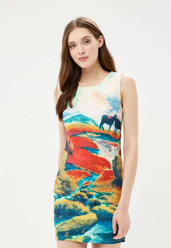 женское платье qed london, разноцветное