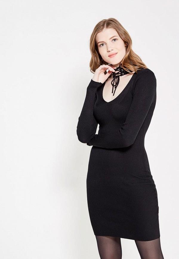 Платье QED London, qe001ewxzl34, черный, Осень-зима 2017/2018  - купить со скидкой