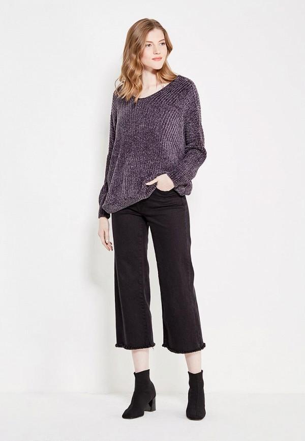 Фото 2 - женский пуловер QED London серого цвета