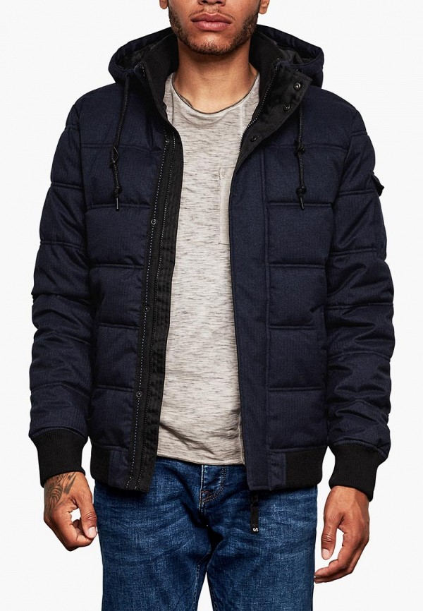 Куртка утепленная Q/S designed by Q/S designed by QS006EMBPUZ2 куртка кожаная q s designed by q s designed by qs006emzpe27