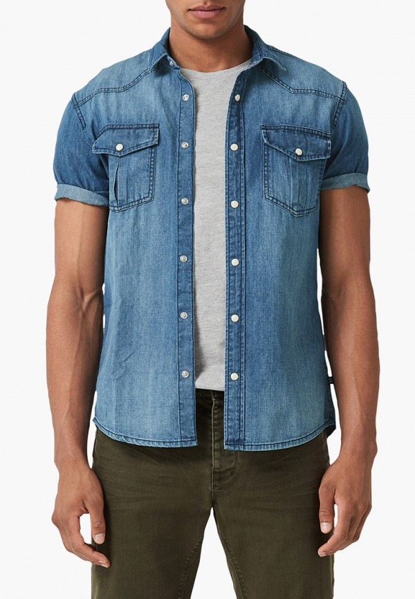 Рубашка джинсовая Q/S designed by Q/S designed by QS006EMFGHM6 рубашка джинсовая colin s colin s mp002xm23q7t
