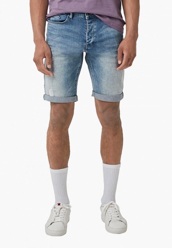 мужские шорты q/s designed by, голубые