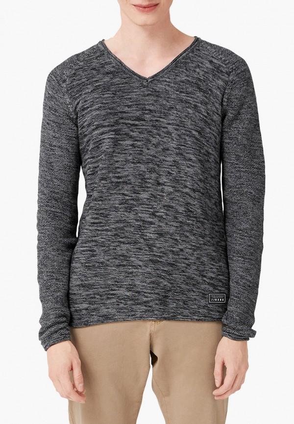 мужской пуловер q/s designed by, серый