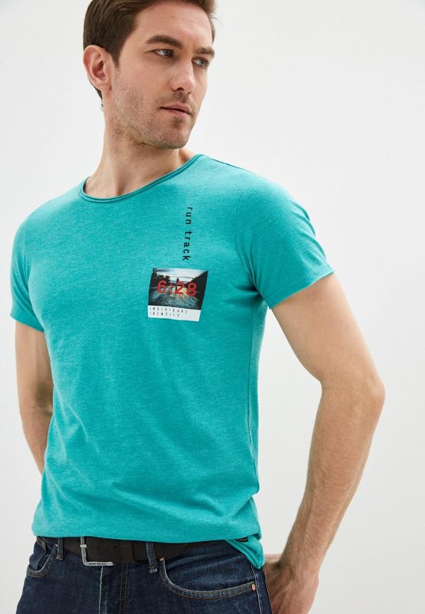мужская футболка с коротким рукавом q/s designed by, зеленая