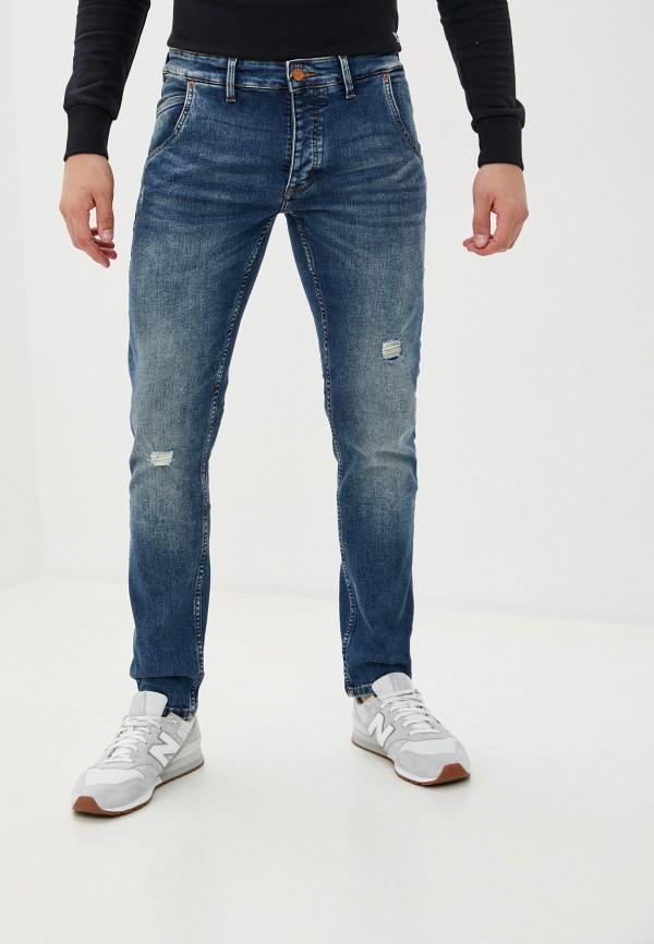 мужские зауженные джинсы q/s designed by, синие