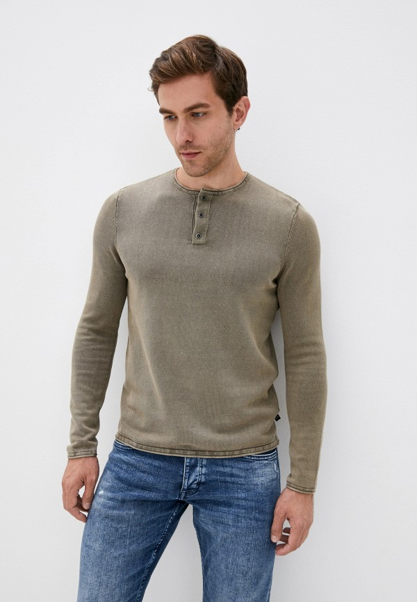 мужской джемпер q/s designed by, коричневый