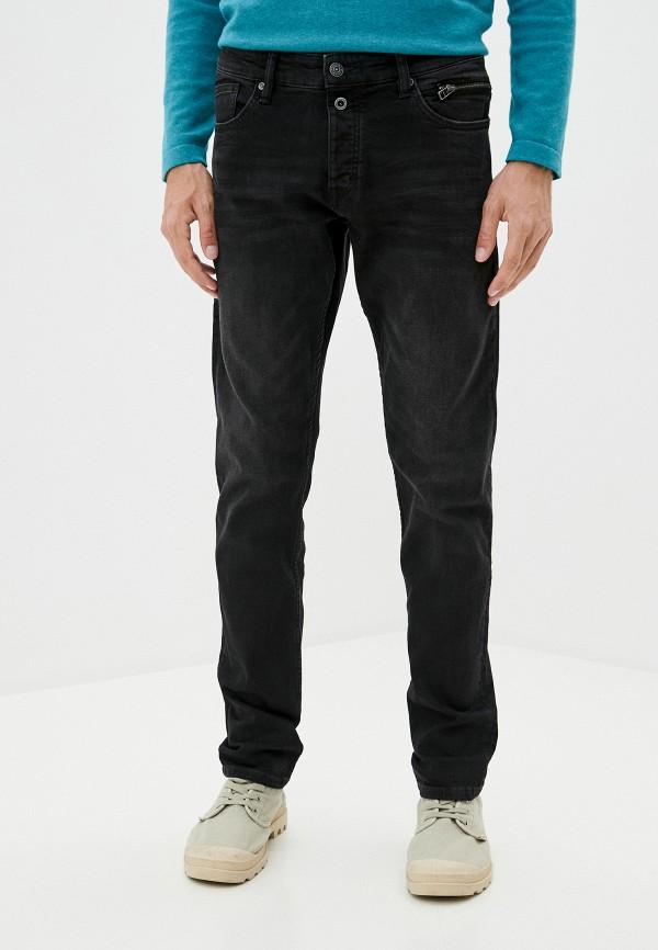 мужские прямые джинсы q/s designed by, черные