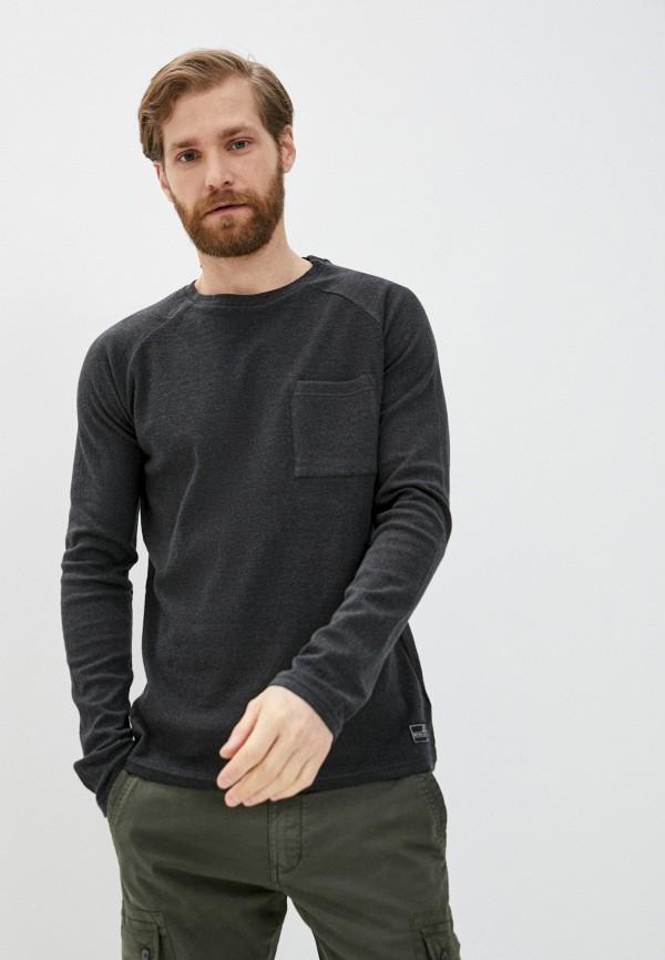 мужской лонгслив q/s designed by, серый