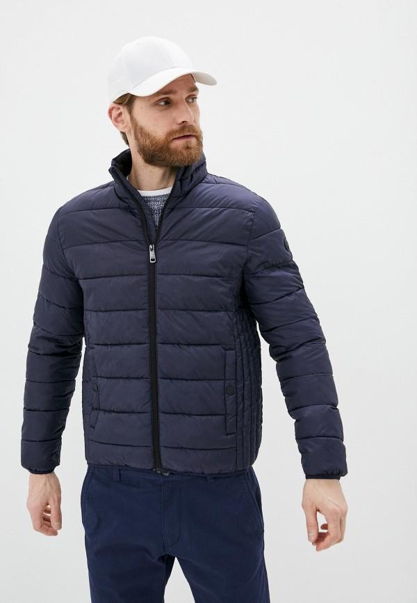 мужская утепленные куртка q/s designed by, синяя
