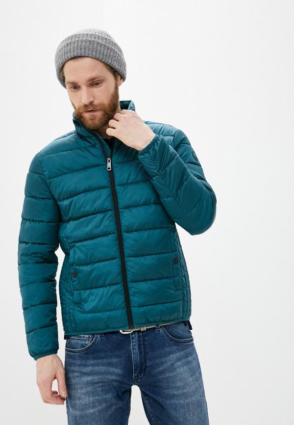 мужская утепленные куртка q/s designed by, зеленая