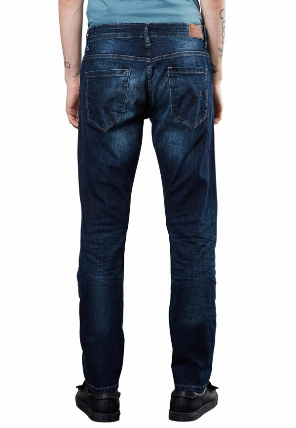 Фото 2 - мужские джинсы Q/S designed by синего цвета