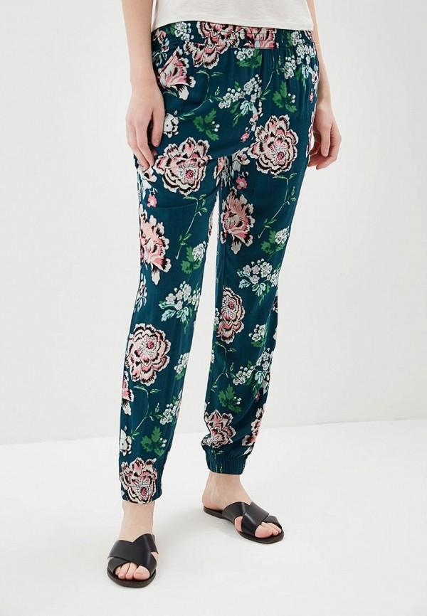 женские зауженные брюки q/s designed by, бирюзовые
