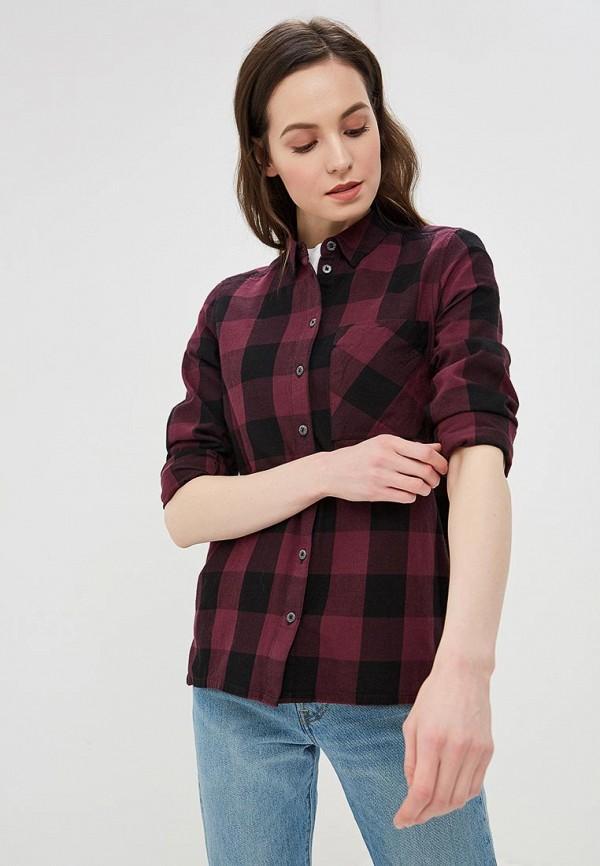 женская рубашка с длинным рукавом q/s designed by, фиолетовая