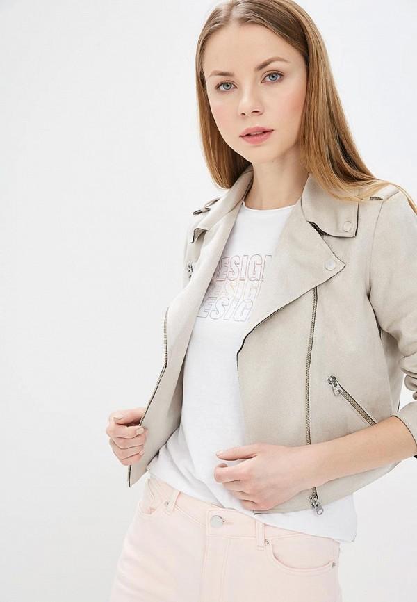 Куртка кожаная Q/S designed by Q/S designed by QS006EWECQN5 поло q s designed by q s designed by qs006ewabls7