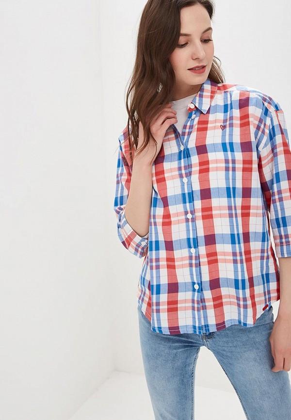 женская рубашка с коротким рукавом q/s designed by, разноцветная