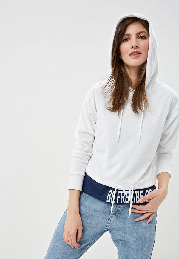 женские худи q/s designed by, белые