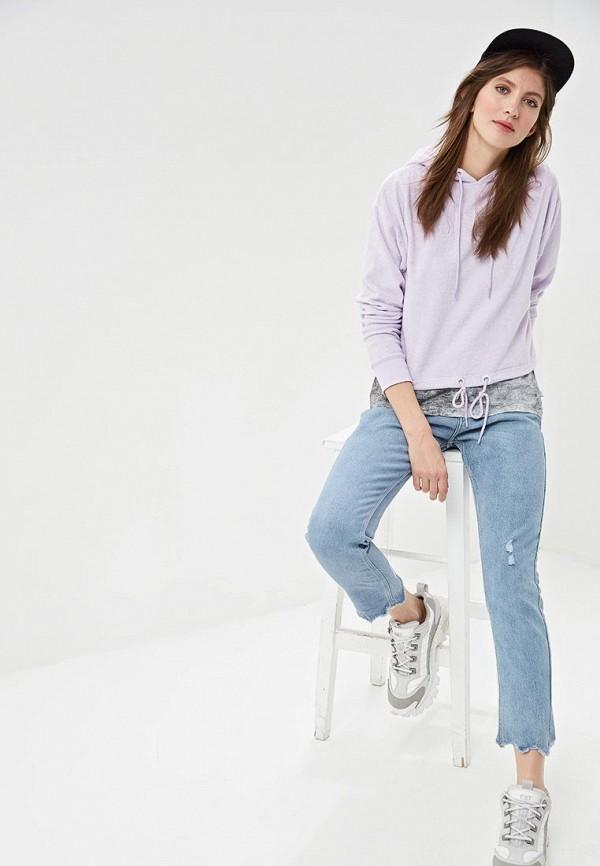Фото 2 - Худи Q/S designed by фиолетового цвета