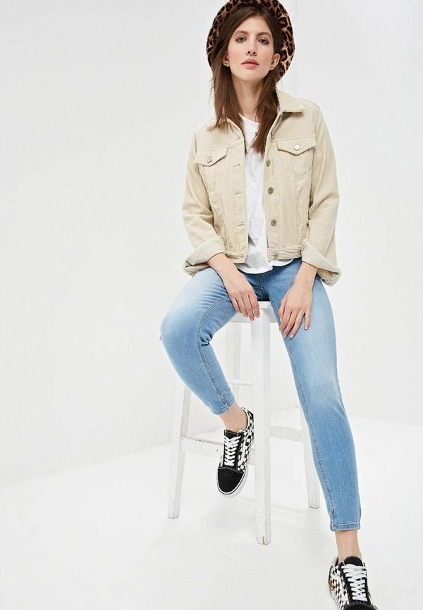 Фото 2 - женские джинсы Q/S designed by голубого цвета