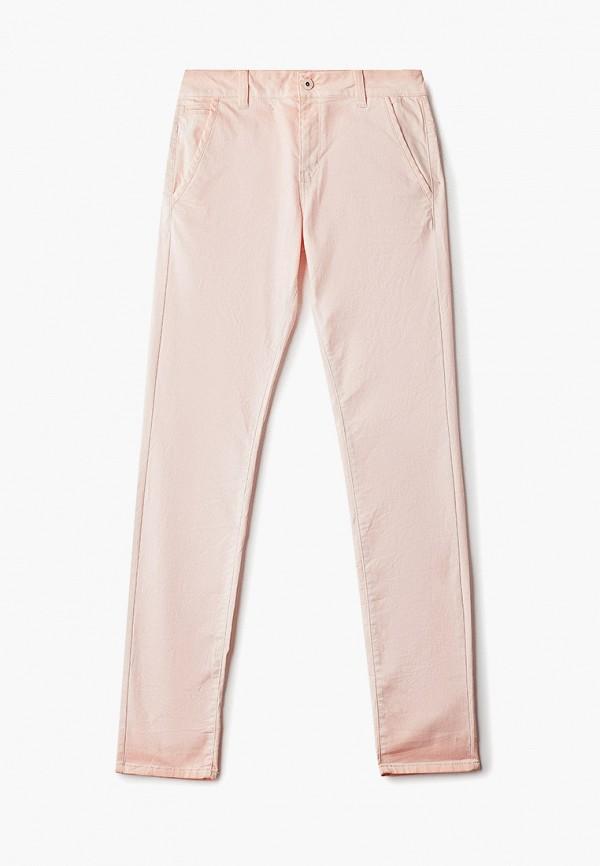 женские повседневные брюки q/s designed by, розовые