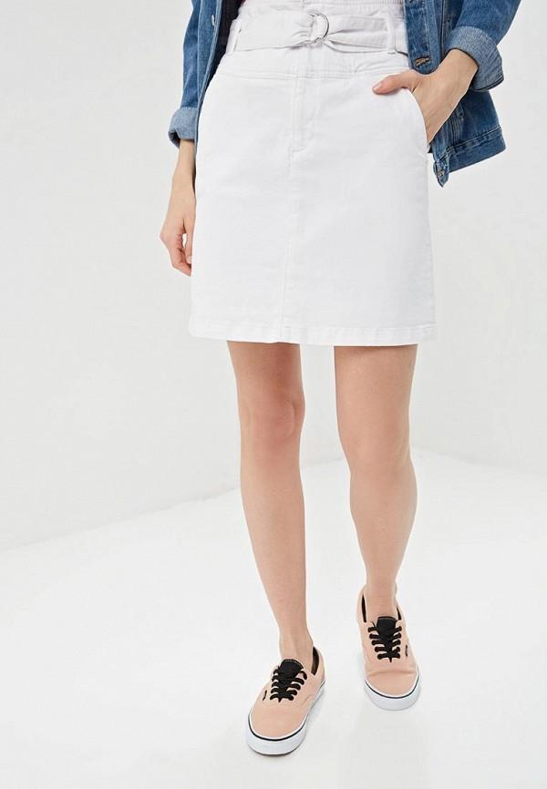 женская джинсовые юбка q/s designed by, белая