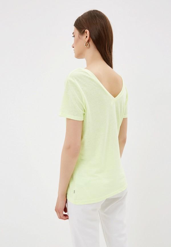 Фото 3 - женскую футболку Q/S designed by желтого цвета