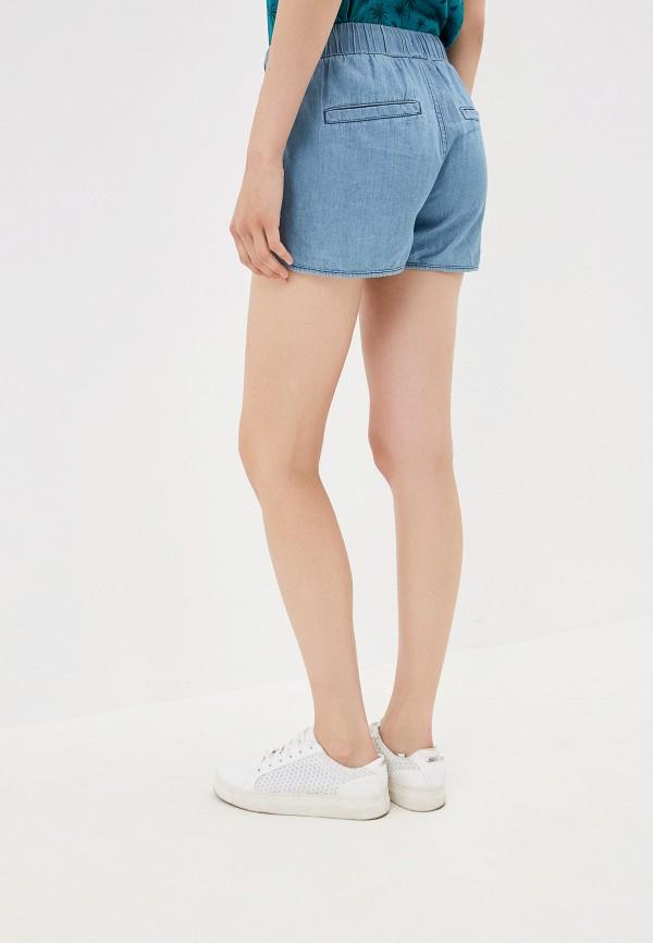 Фото 3 - Шорты джинсовые Q/S designed by голубого цвета