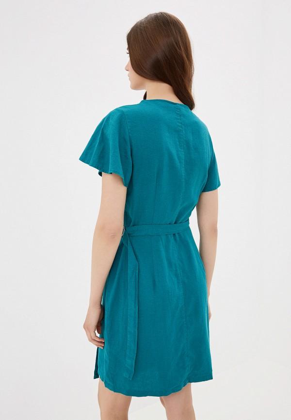 Фото 3 - женское платье Q/S designed by бирюзового цвета