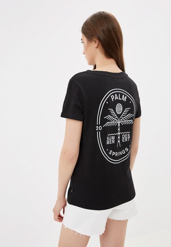 Фото 3 - женскую футболку Q/S designed by черного цвета
