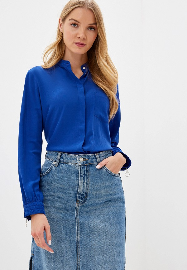 женская блузка q/s designed by, синяя