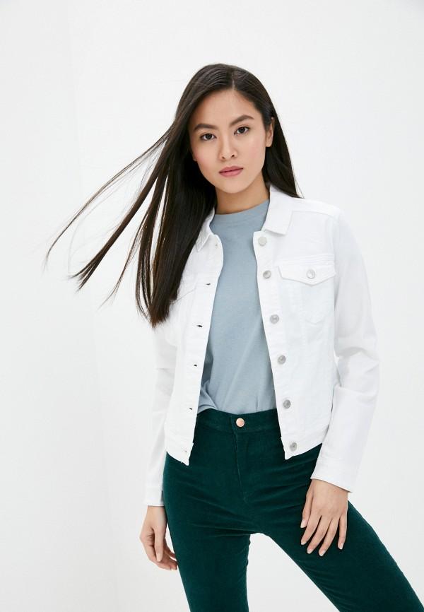 женская джинсовые куртка q/s designed by, белая