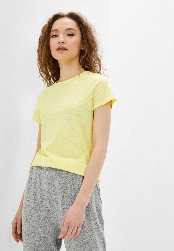 женская футболка q/s designed by, желтая