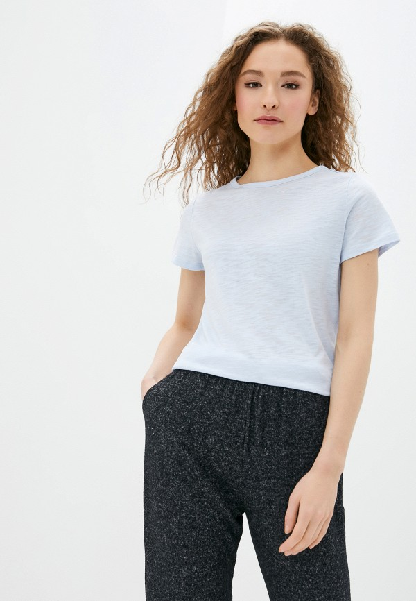 женская футболка q/s designed by, голубая