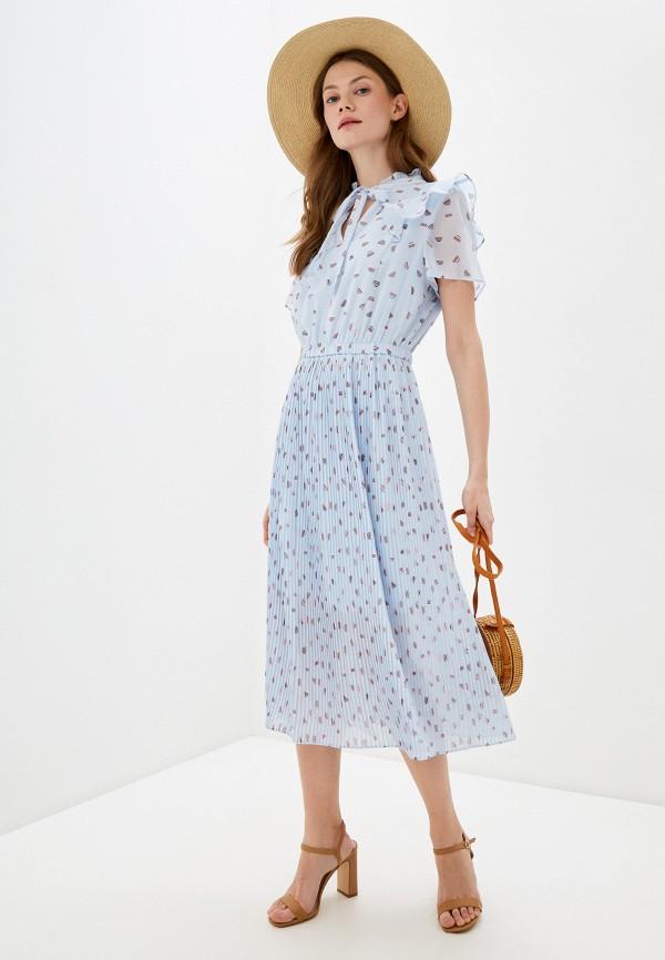 женское повседневные платье q/s designed by, голубое