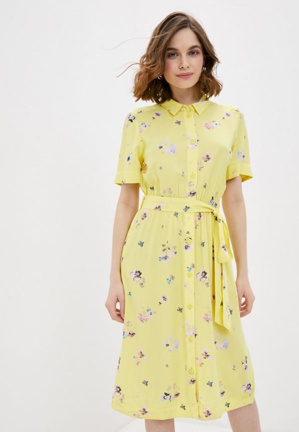 женское платье q/s designed by, желтое